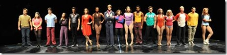 Chorus Line Cast - Marriott 3