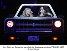 Constantine Maroulis and Kerry Butler - (2)