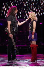 Constantine Maroulis and Kerry Butler