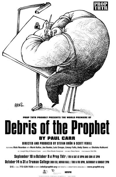 Debris of the Prophet poster