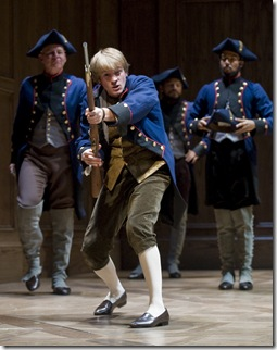 Geoff Packard as Candide in Goodman Theatre production - Photo by Liz Lauren