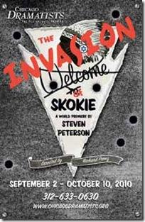invasion of skokie - poster