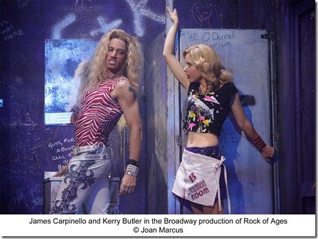 James Carpinello and Kerry Butler
