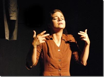 Melissa Hawkins plays Juliet by Andras Visky