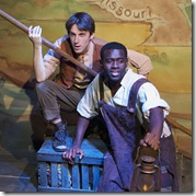 "A scene from Boho Theatre Ensemble's ""Big River"", performing now at Theater Wit thru October 10th"