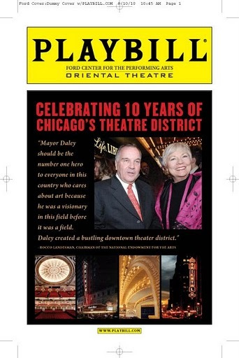 Richard Daley Maggie Daley Theatre Playbill
