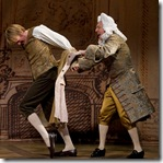Tom Aulina and Geoff Packard in Candide Goodman Theatre - photo by Liz Lauren