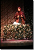 "Rohina Malik, pictured in a scene from her powerful one-woman show ""Unveiled"" - currently part of the ""What's Next Series"" at Next Theatre of Evanston"