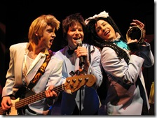 Wedding Singer - (L-R) Nathan Carroll, Eric Lindahl and Shawn Quinlan