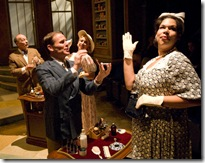 James Rank and Bethany Thomas in SHE LOVES ME - now playing at Writers' Theatre in Glencoe.