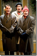 Jeremy Rill, Bethany Thomas and Andrew Goetten in SHE LOVES ME - now playing at Writers' Theatre in Glencoe.