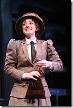 "Megan McGinnis in Northlight Theatre's ""Daddy Long Legs"". Photo by Jeanne Tanner."