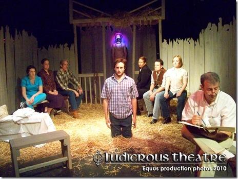 Ludicrous Theatre's Equus Cast