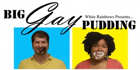 Big Gay Pudding - White Rainbow