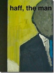 Haff the Man and Falling Girl poster - Theatre Zarko