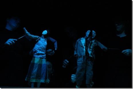 Haff the Man - Theatre Zarko - Noyes Cultural Center - a photo of Haff, the Man. Carl Wiedemann photographer.
