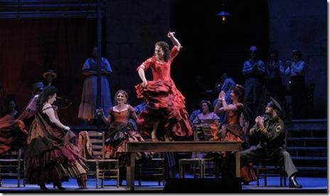 Katharine Goeldner as Carmen - Lyric Opera - Photo by Dan Rest