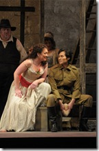 Katharine Goeldner, Yonghoon Lee, Lyric Opera - Carmen - photo by Dan Rest