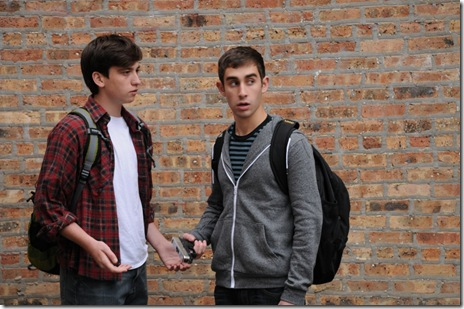 Nick DiLeonardi as Mike and Andrew Raia as Justin  – Photo by Lila Stromer