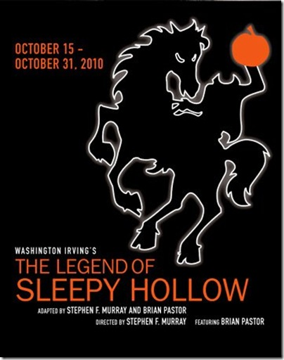 Legend of Sleepy Hollow poster - City Lit Theater