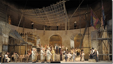 Lyric Opera - Scene from Act I of Carmen - Photo by Dan Rest