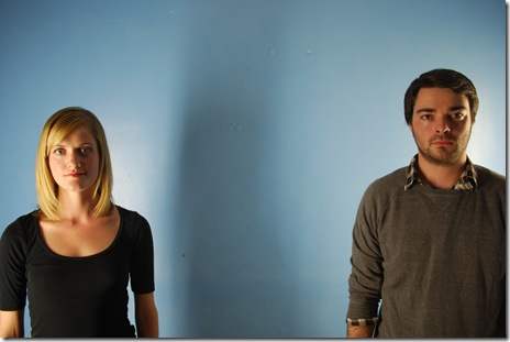 (Left to right) Meghan Reardon, Nicholas Combs.  Photo by James Palmer