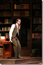 "Robert Adelman Hancock in Northlight Theatre's ""Daddy Long Legs"". Photo by Jeanne Tanner."