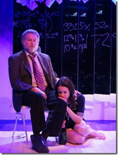 Robert (Sandy Elias and Catherine (Natalie DiCristofano) photo by Scott L. Schoonover)