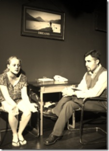 Scene from Brief History of Helen of Troy at Steep Theatre Chicago 2