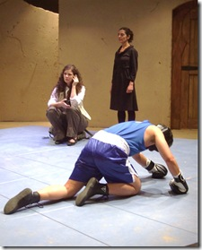 "Scene from Silk Road Theatre Project's ""Scorched"" 4"