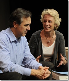 Tom Amandes and Annabel Armour - photo by Liz Lauren