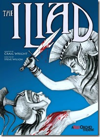 A Red Orchid Theatre - The Illiad poster