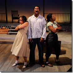 Ashley Honore, Kamal Angelo Bolden, and Tracey N. Bonner - Home - Court Theatre
