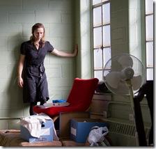 Brenda Barrie in Backstage Theatre Memory - photo by Heath Hays