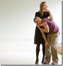 Brenda Barrie & Tony Bozzuto - Backstage Theatre - photo by Heath Hays