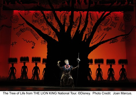 Brenda Mhlongo in Circle of Life - The Lion King - Broadway in Chicago