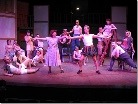 Cast of Kiss Me Kate - Circle Theatre