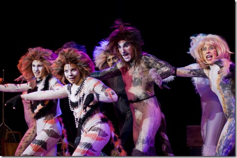 The Company in Jellicle Songs. Photo by Gary Ward of G. Thomas Ward Photography