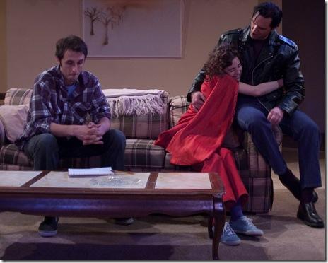 Daniel Behrendt, Eve Rydberg, Luke Renn in Toronto Mississippi - Mary-Arrchie Theatre