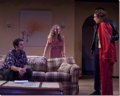 Daniel Behrendt, Laura Sturm, Eve Rydberg, Luke Renn - Mary-Arrchie Theatre