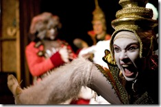Emily Rogers as a Siamese in Growltiger. Photo by Gary Ward of G. Thomas Ward Photography.