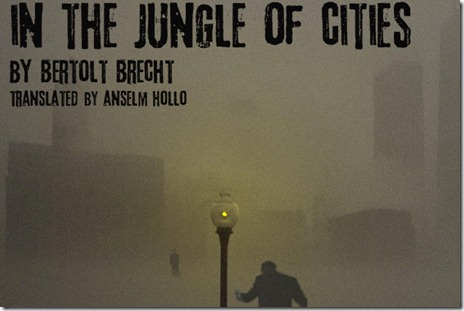In the Jungle of Cities - Ka-Tet Theatre - poster