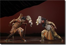 J. Anthony Crane and Dionne Randolph in Disney's Lion King tour