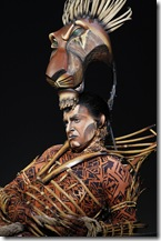 J. Anthony Crane as Scar in The Lion King - Broadway in Chicago