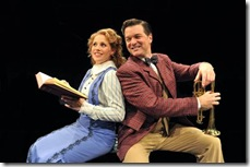 Johanna McKenzie Miller and Bernie Yvon in The Music Man - Marriott Theatre 3
