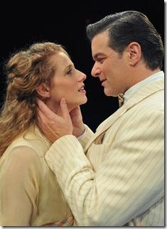 Johanna McKenzie Miller and Bernie Yvon in The Music Man - Marriott Theatre