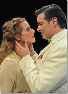Johanna McKenzie Miller and Bernie Yvon in The Music Man - Marriott Theatre