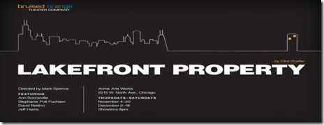 lakefront property - landscape poster