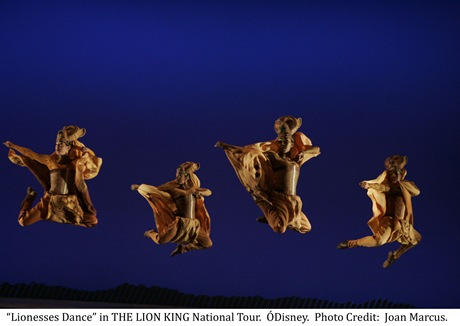 Lionesses Dance - Disney's Lion King
