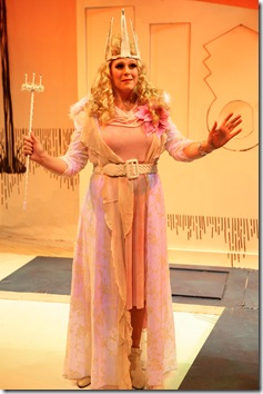 Molly Tower as Glinda the Good Witch - Emerald City Theatre